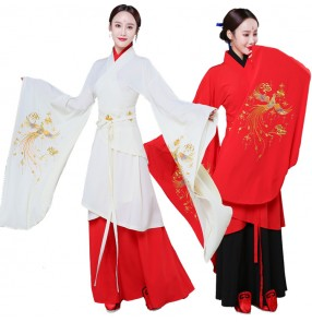 Women's traditional Phoenix hanfu chinese folk dance fairy korean Japanese kimono anime photos drama cosplay robes dresses